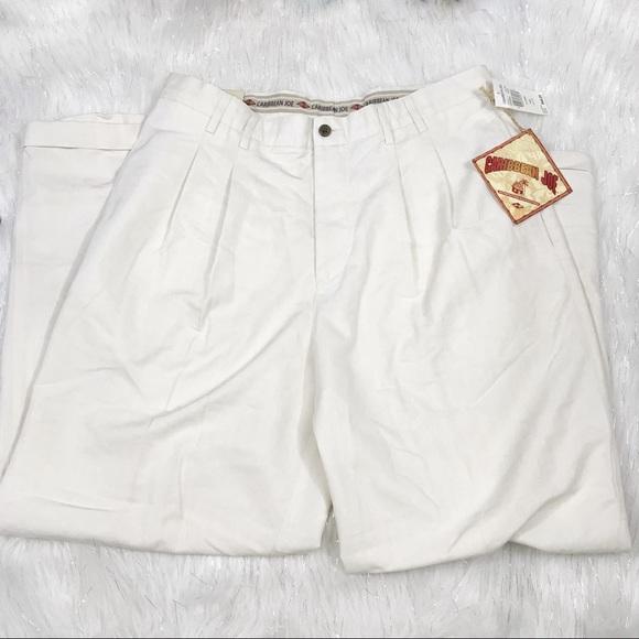 Caribbean Joe Other - Caribbean Joe Tan Dress Pants 36 x 30 NWT